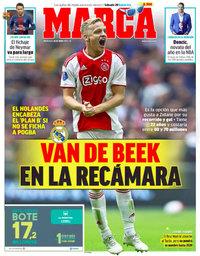 capa Jornal Marca de 26 junho 2019