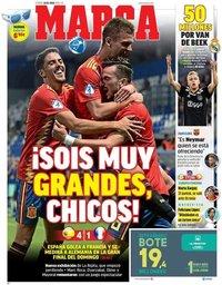 capa Jornal Marca de 28 junho 2019