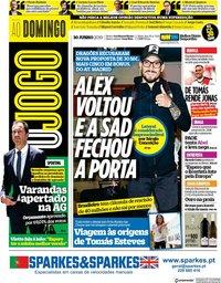 capa Jornal O Jogo de 30 junho 2019