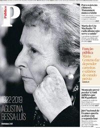 capa Público de 4 junho 2019