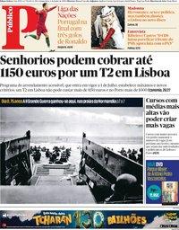 capa Público de 6 junho 2019