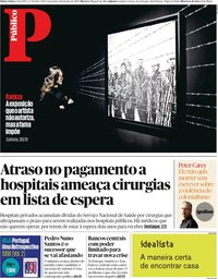 capa Público de 14 junho 2019