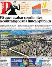 capa Público de 15 junho 2019