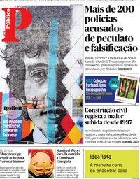 capa Público de 21 junho 2019