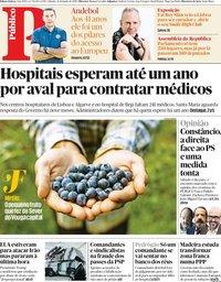 capa Público de 22 junho 2019