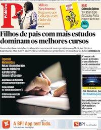 capa Público de 26 junho 2019