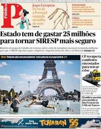 capa Público de 27 junho 2019