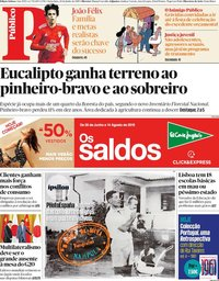 capa Público de 28 junho 2019