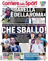 capa Corriere dello Sport de 2 julho 2019