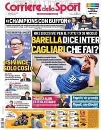 capa Corriere dello Sport de 3 julho 2019