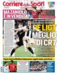 capa Corriere dello Sport de 4 julho 2019