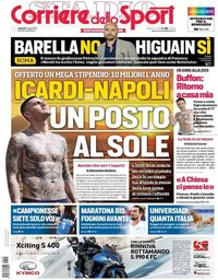 capa Corriere dello Sport de 5 julho 2019
