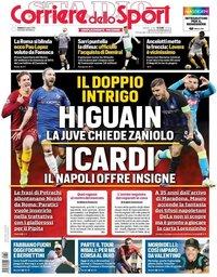 capa Corriere dello Sport de 6 julho 2019
