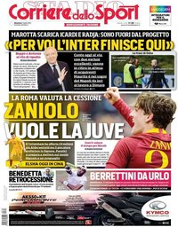 capa Corriere dello Sport de 7 julho 2019