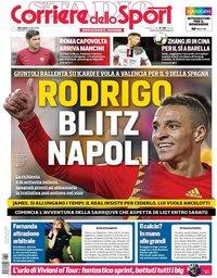 capa Corriere dello Sport de 10 julho 2019