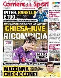 capa Corriere dello Sport de 12 julho 2019