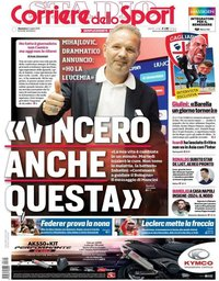 capa Corriere dello Sport de 14 julho 2019