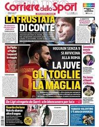 capa Corriere dello Sport de 20 julho 2019