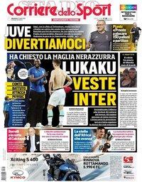 capa Corriere dello Sport de 21 julho 2019