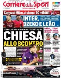 capa Corriere dello Sport de 23 julho 2019