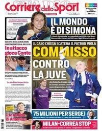 capa Corriere dello Sport de 24 julho 2019