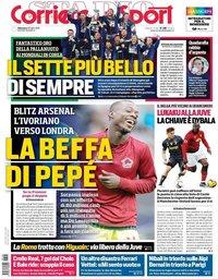 capa Corriere dello Sport de 28 julho 2019