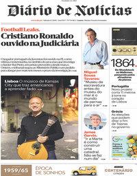 capa Diário de Notícias de 6 julho 2019