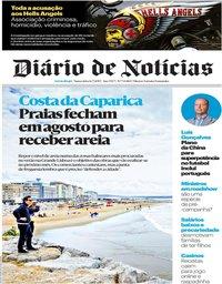 capa Diário de Notícias de 12 julho 2019