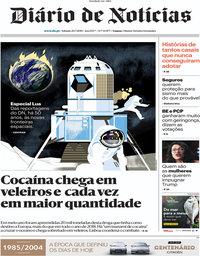 capa Diário de Notícias de 20 julho 2019