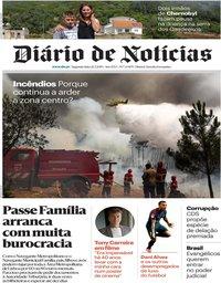capa Diário de Notícias de 22 julho 2019