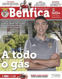 capa Jornal Benfica de 5 julho 2019