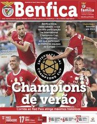 capa Jornal Benfica de 19 julho 2019