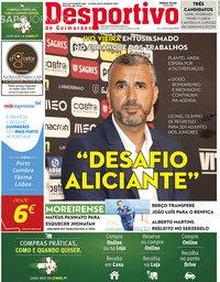 capa Jornal Desportivo de Guimarães de 1 julho 2019