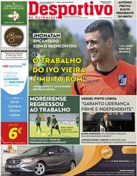 capa Jornal Desportivo de Guimarães de 8 julho 2019