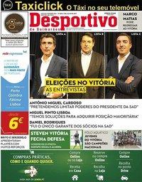 capa Jornal Desportivo de Guimarães de 15 julho 2019