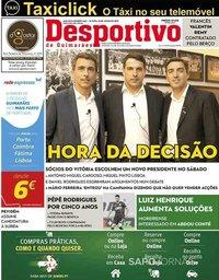 capa Jornal Desportivo de Guimarães de 22 julho 2019