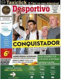 capa Jornal Desportivo de Guimarães de 29 julho 2019