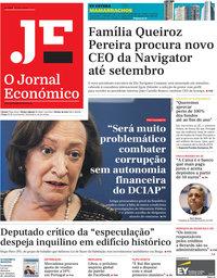 capa Jornal Económico de 5 julho 2019