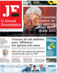 capa Jornal Económico de 12 julho 2019