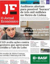 capa Jornal Económico de 19 julho 2019