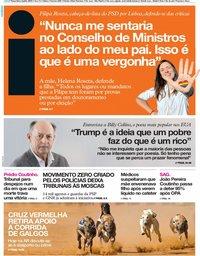 capa Jornal i de 2 julho 2019