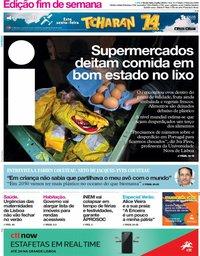capa Jornal i de 5 julho 2019