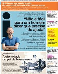 capa Jornal i de 8 julho 2019