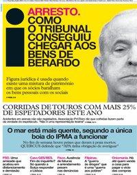 capa Jornal i de 9 julho 2019