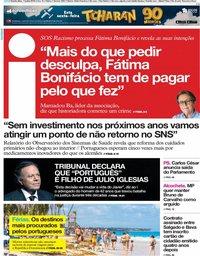 capa Jornal i de 11 julho 2019