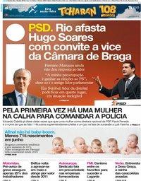 capa Jornal i de 18 julho 2019