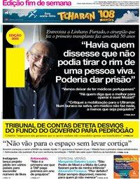 capa Jornal i de 19 julho 2019