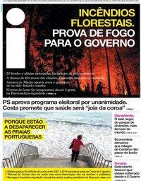 capa Jornal i de 22 julho 2019