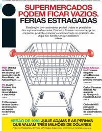 capa Jornal i de 24 julho 2019