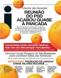 capa Jornal i de 25 julho 2019